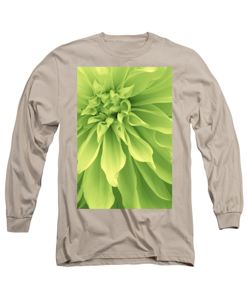 Green Sherbet Long Sleeve T-Shirt by Bruce Bley
