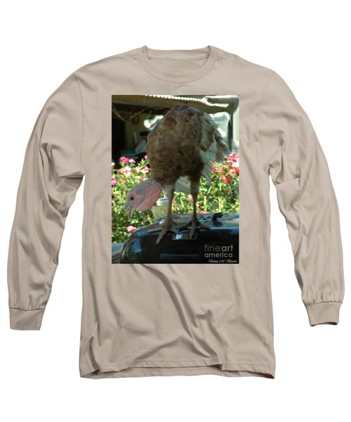 Grill Turkey Anyone Redneck Style Long Sleeve T-Shirt