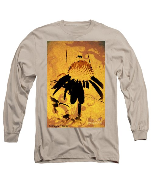 Grunge  Daisy Art Long Sleeve T-Shirt