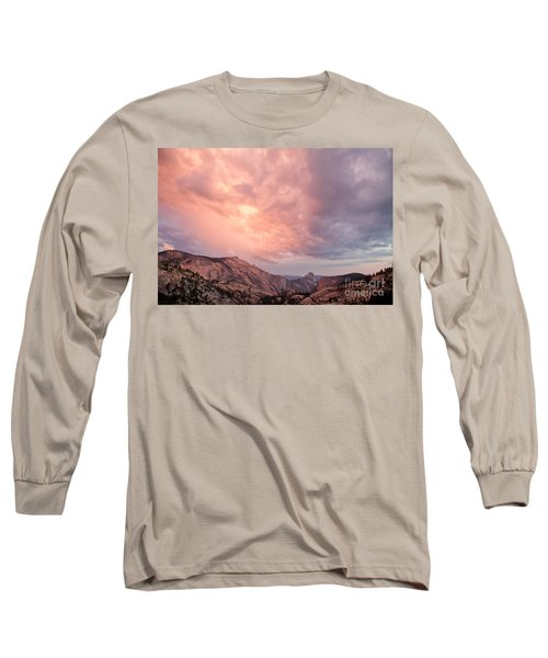 Half Dome From Olmsted Point Long Sleeve T-Shirt