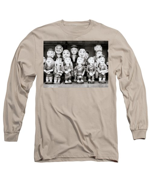 Hanoi Water Puppets Long Sleeve T-Shirt