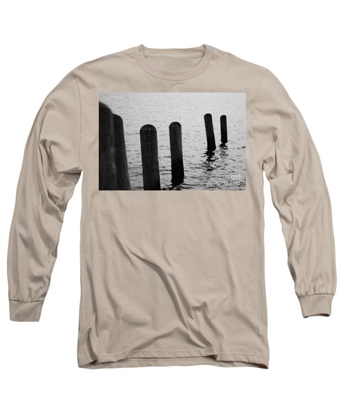 Long Sleeve T-Shirt featuring the photograph Harbor Ties by Tony Cooper