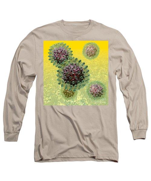 Hepatitis B Virus Particles Long Sleeve T-Shirt