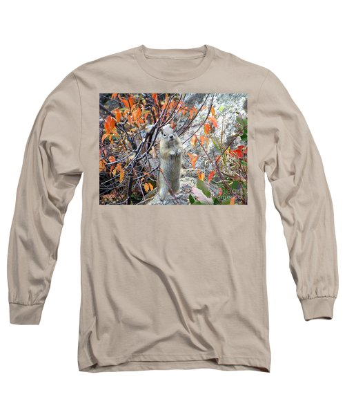 Hey There Long Sleeve T-Shirt by Dorrene BrownButterfield