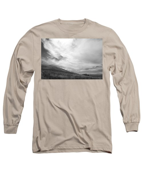 Long Sleeve T-Shirt featuring the photograph Hillside Meets Sky by Kathleen Grace