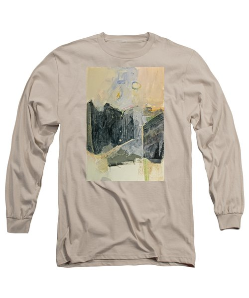 Hits And Mrs Or Kami Hito E  Detail  Long Sleeve T-Shirt by Cliff Spohn