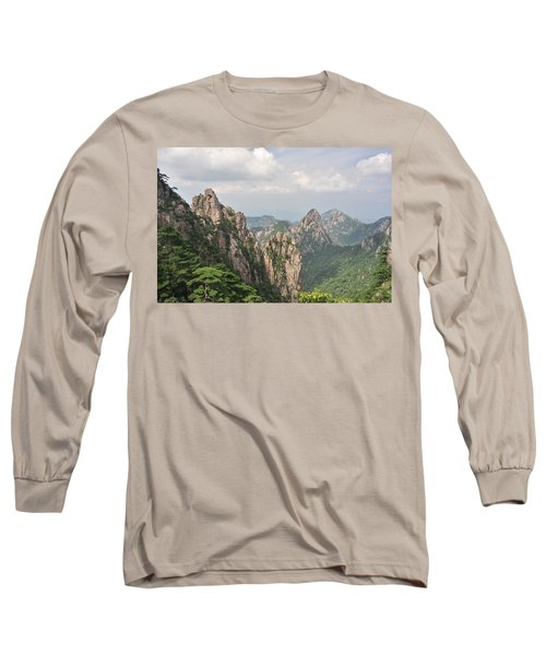 Huangshan Granite 1 Long Sleeve T-Shirt
