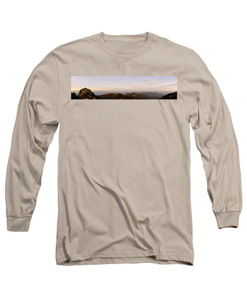 Huangshan Sunrise Panorama 2 Long Sleeve T-Shirt