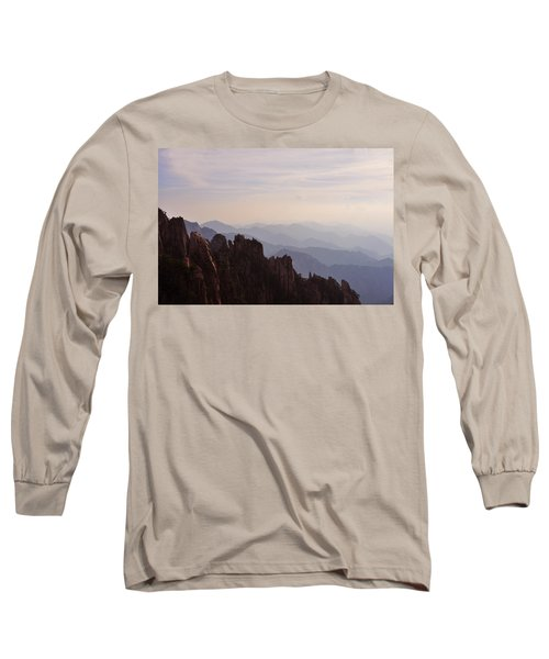 Huangshan Sunset Long Sleeve T-Shirt