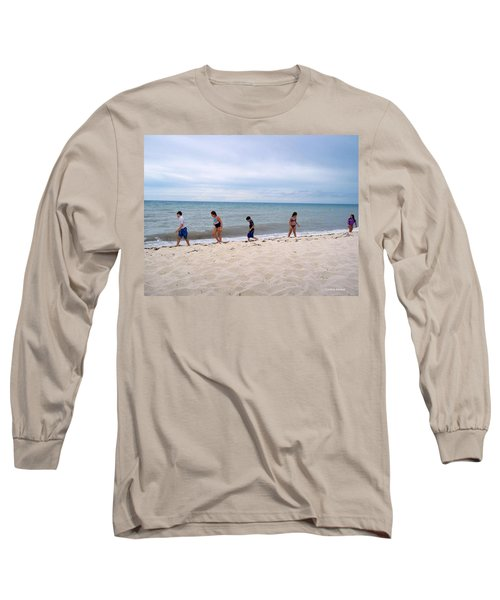 Long Sleeve T-Shirt featuring the photograph Hurry Up  by Cynthia Amaral