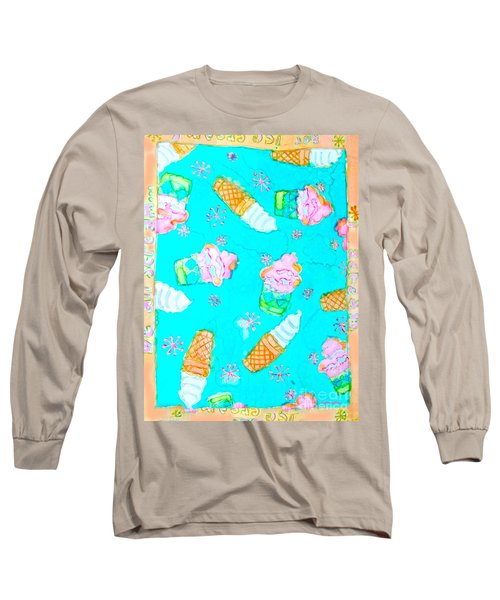 Ice Cream I Scream Long Sleeve T-Shirt