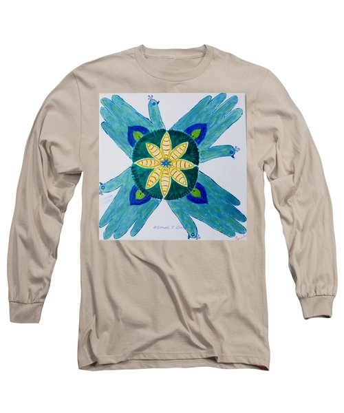 Long Sleeve T-Shirt featuring the painting Impression by Sonali Gangane
