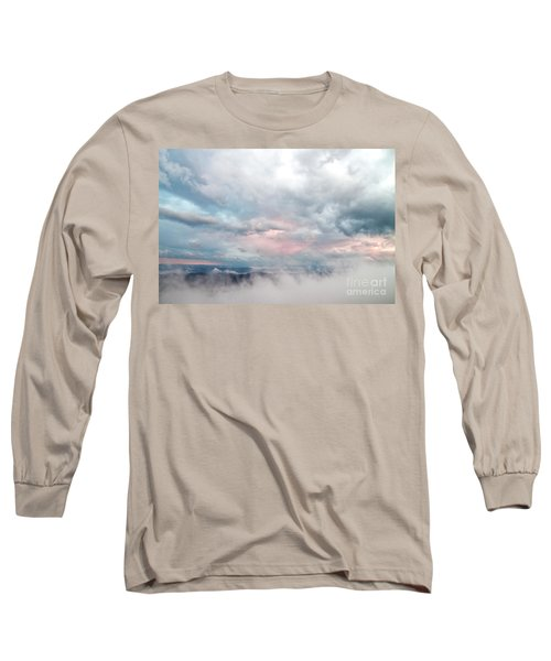 Long Sleeve T-Shirt featuring the photograph In The Clouds by Jeannette Hunt