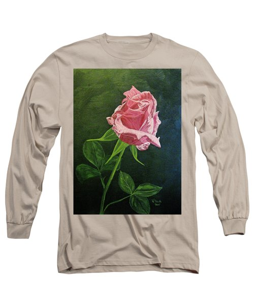 Kiss Of The Morning Sun 2 Long Sleeve T-Shirt by Wendy Shoults