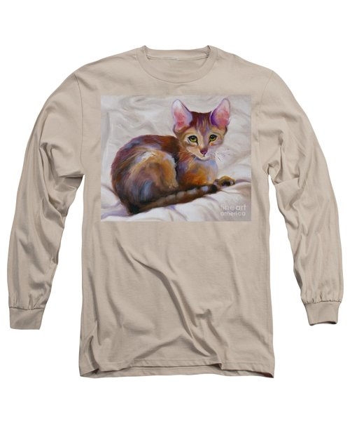 Kitten Princess Long Sleeve T-Shirt