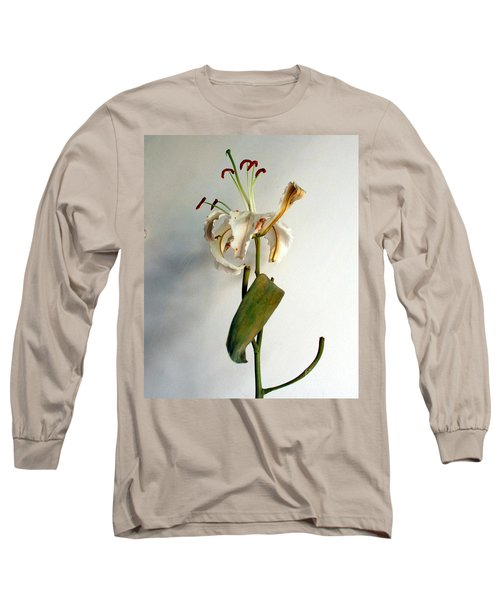 Long Sleeve T-Shirt featuring the photograph Last Moments by Pravine Chester