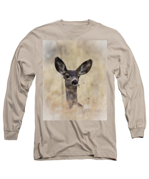 Long Sleeve T-Shirt featuring the photograph Little Fawn by Steve McKinzie