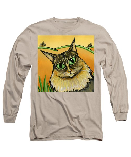 Maine Coone Long Sleeve T-Shirt