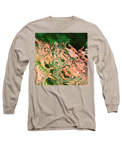 Marbled Long Sleeve T-Shirt