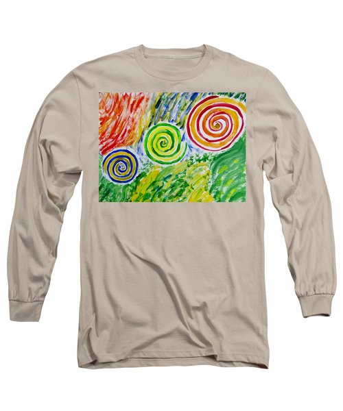 Long Sleeve T-Shirt featuring the painting Meditation by Sonali Gangane