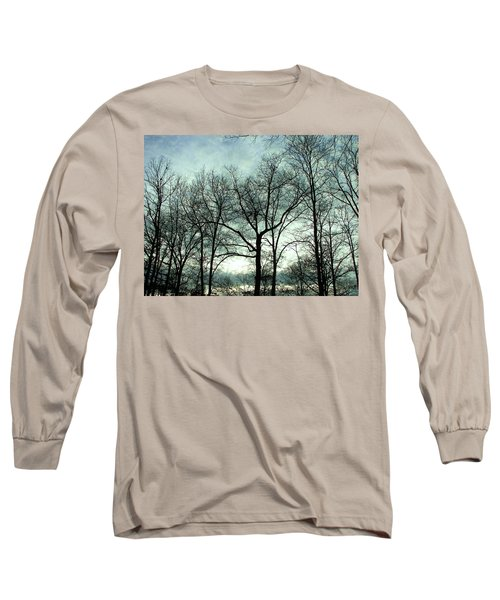 Long Sleeve T-Shirt featuring the photograph Mirage In The Clouds by Pamela Hyde Wilson