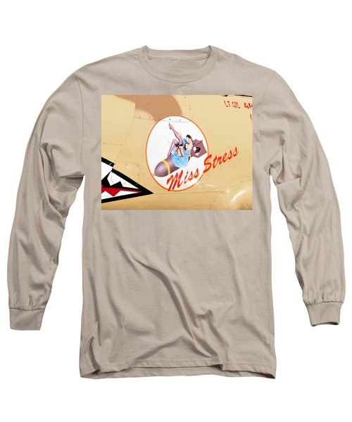 Miss Stress Long Sleeve T-Shirt by David Lee Thompson
