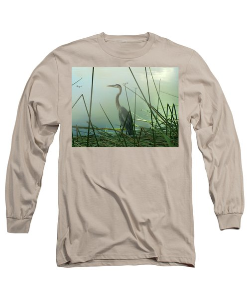 Misty Blue Long Sleeve T-Shirt