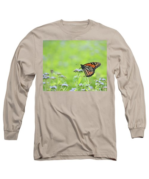 Monarch And Mist Long Sleeve T-Shirt