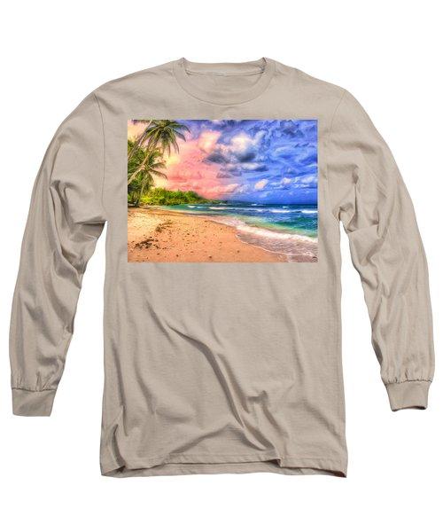 Morning Light Bali Long Sleeve T-Shirt