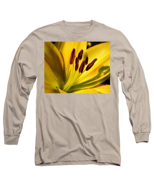 Morning Yellow Long Sleeve T-Shirt