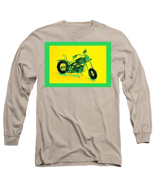 Motorbike 1b Long Sleeve T-Shirt