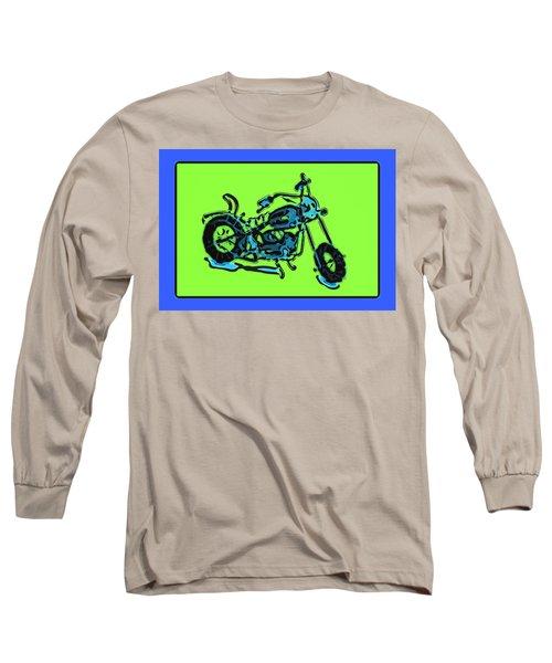 Motorbike 1c Long Sleeve T-Shirt