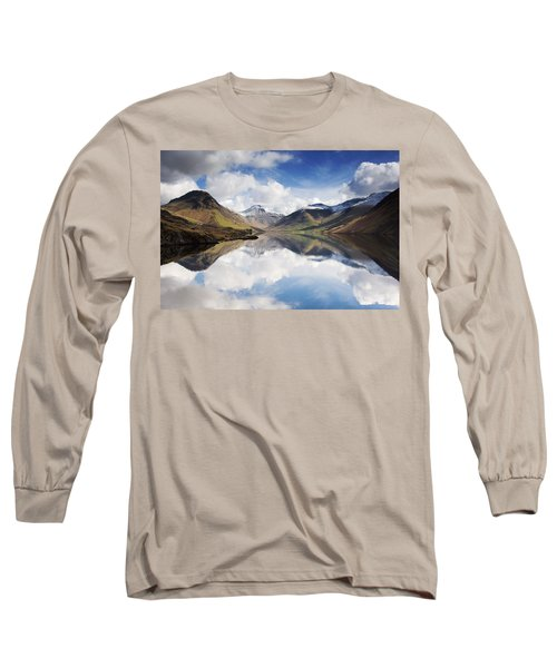 Mountains And Lake, Lake District Long Sleeve T-Shirt