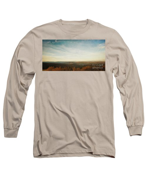 Mountains As Far As The Eye Can See Long Sleeve T-Shirt