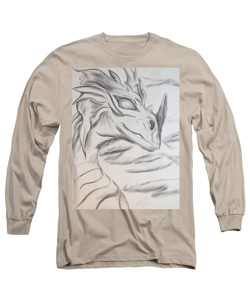 My Dragon Long Sleeve T-Shirt by Maria Urso