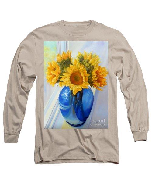 My Sunflowers Long Sleeve T-Shirt