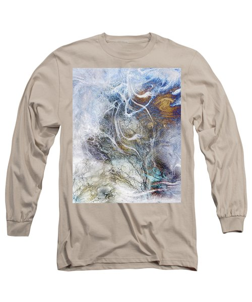 Night Blizzard Long Sleeve T-Shirt by Francesa Miller