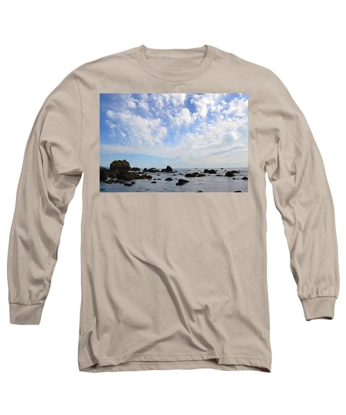 Long Sleeve T-Shirt featuring the photograph Northern California Coast1 by Zawhaus Photography
