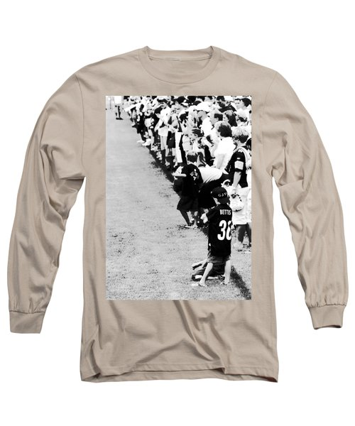 Number 1 Bettis Fan - Black And White Long Sleeve T-Shirt