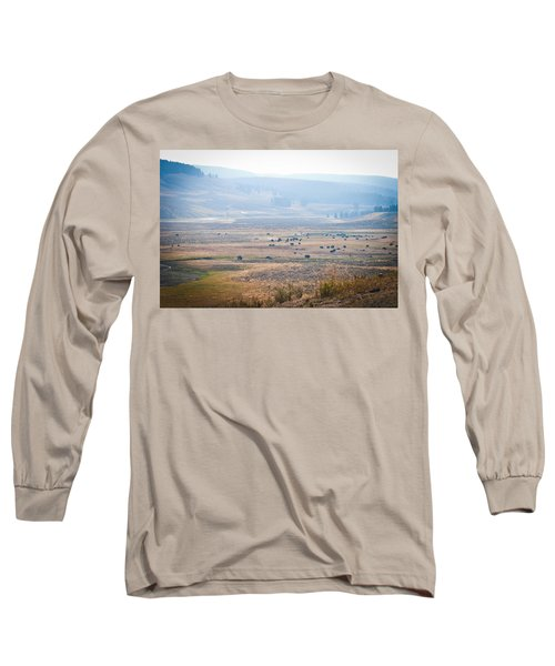 Long Sleeve T-Shirt featuring the photograph Oh Home On The Range by Cheryl Baxter
