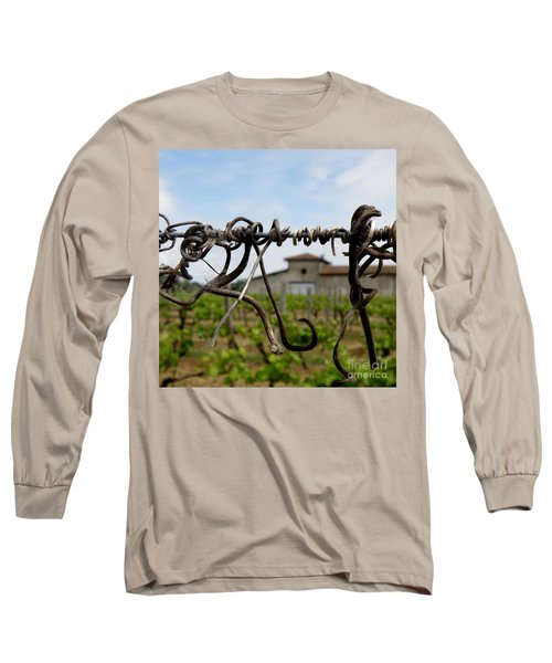 Long Sleeve T-Shirt featuring the photograph Old And New  by Lainie Wrightson