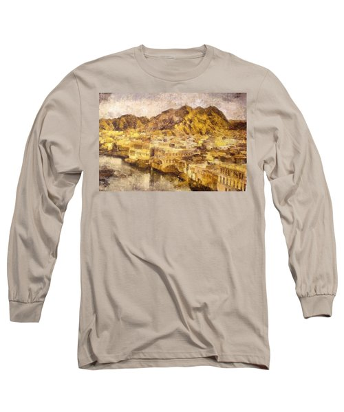 Old City Of Muscat Long Sleeve T-Shirt
