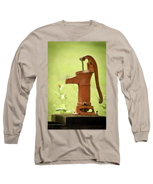 Old Fashioned Water Pump Long Sleeve T-Shirt