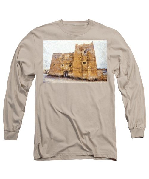 Old Mansion In Mirbat Long Sleeve T-Shirt