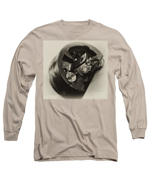 Old Plug  Long Sleeve T-Shirt by Wilma  Birdwell