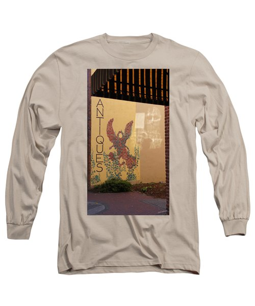 Old Town Grants Pass Detail Long Sleeve T-Shirt by Mick Anderson