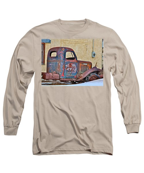 Old Truck Long Sleeve T-Shirt by Johanna Bruwer