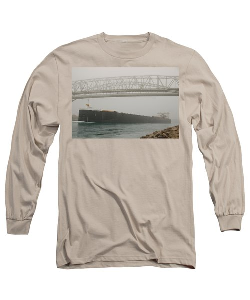Only A Stones Throw Away Long Sleeve T-Shirt by Randy J Heath