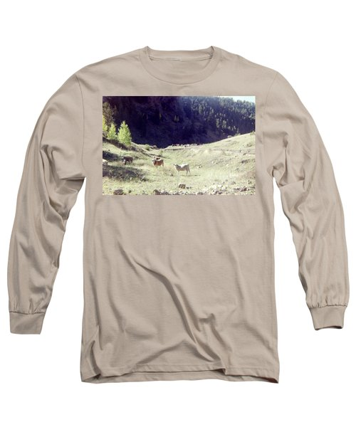Long Sleeve T-Shirt featuring the photograph Open Range by Bonfire Photography