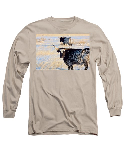 Long Sleeve T-Shirt featuring the photograph Open Range by Jim Garrison